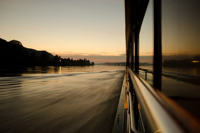 Sailing the Danube aboard Tauck's Swiss Jewel. Photo © 2012 Aaron Saunders