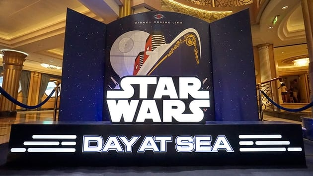 Video Podcast Disney Cruise Line S Star Wars Day At Sea