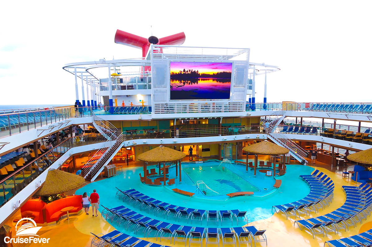 10 Impressive Features On Carnival S Largest Cruise Ship