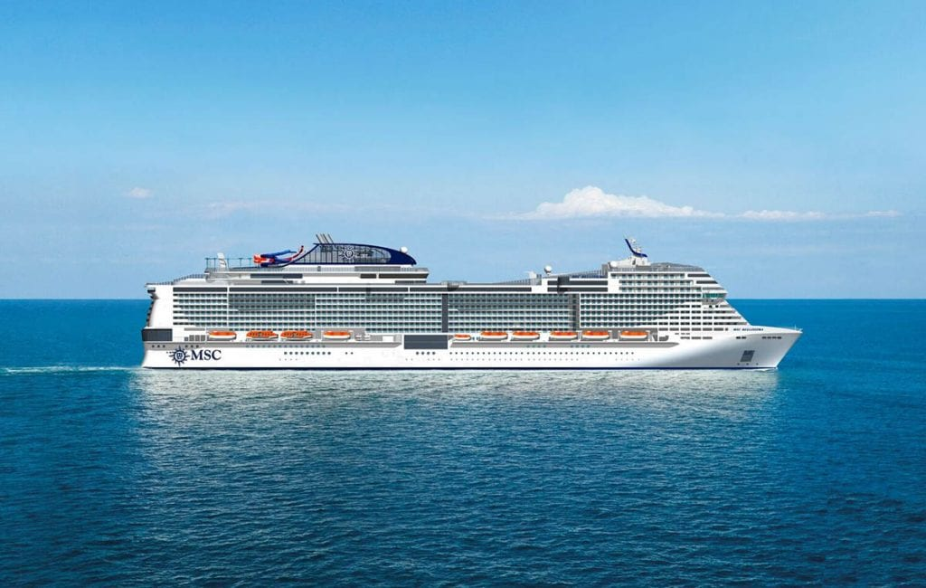 Less Than 100 Days Until The Debut Of Msc Bellissima
